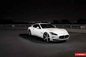Maserati Gran Turismo| VVS-CV3 - Matte Black Machined - E: 22x9 / H: 22x10.5