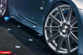 Nissan 350Z | VVS-CV4 - ezüst polír - E: 20x9 / H: 20x10.5