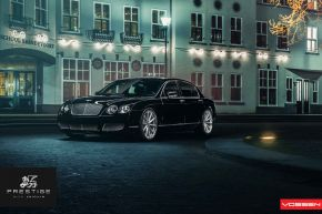Bentley Flying Spur | VVS-CV1 - matt ezüst - E: 22x9 / H: 22x10.5