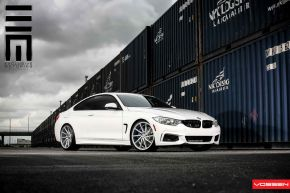 BMW 4 Series | CVT - Metallic Silver - E: 20x9 / H: 20x10.5