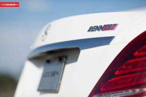 Mercedes Benz S Class | CVT - Metallic Silver - E: 22x9 / H: 22x10.5