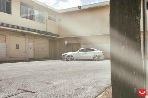 Lexus IS |  VVSCV5 - Silver Polished - E: 20x9 / H: 20x10