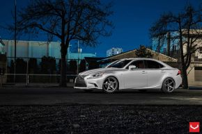 Lexus IS |  VVSCV3 - Matte Graphite - E: 19x8.5 / H: 19x10