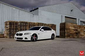 BMW 5 | VVSCV3 - Matte Black Machined - E: 20x9 / H: 20x10.5