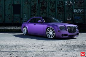 Chrysler 300C | VVSCV4 - Matte Black Machined - E: 22x9 / H: 22x10.5