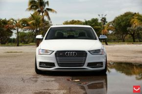 Audi A4 | VVSCV3 - Matte Silver Machined - E: 19x10/ H: 19x10