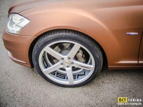 Mercedes S400 Hybrid   Vossen CV3 E: 9x20 H:10,5x20