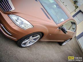 Mercedes S400 Hybrid | Vossen CV3 E: 9x20 H:10,5x20