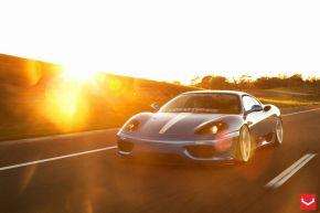 Ferrari Modena 360 | CVT - Metallic Silver - E: 20x9 / H: 20x10.5
