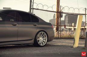 BMW 5 Series |  VVS-CV4 - Silver Polished - E: 20x9 / H: 20x10.5