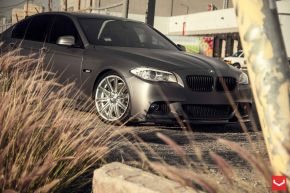 BMW 5 Series |  VVS-CV4 - Silver Polished - E: 20x9 / H: 20x10.5