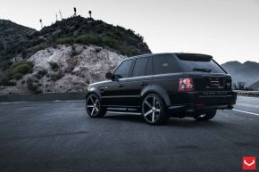 Land Rover Range Rover | VVS-CV3 - Matte Black Machined - E: 22x10.5 / H: 22x10.5