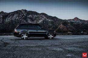 Land Rover Range Rover | VVS-CV3 - Matte Black Machined - E: 22x10.5 / H: 22x10.5