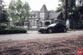 Mercedes Benz SL | VVS-CV3 - Matte Black Machined - E: 20x9 / H: 20x10.5