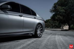 BMW 5 Series | VVS-CV4 - Matte Graphite Machined - E: 20x9 / H: 20x10.5