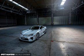 Lexus LFA | VFS2 - Silver Polished- E: 20x10.5 / H: 20x12