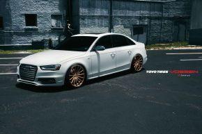 Audi A4 | VFS2 - Satin Bronze- E: 20x9.5 / H: 20x9.5