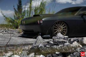 Dodge Challenger | VFS2 - Satin Bronze- E: 20x9 / H: 20x10.5