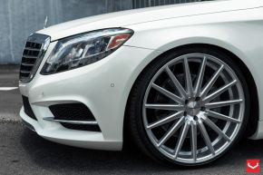 Mercedes Benz S Class | VFS2 - Silver Polished- E: 22x9 / H: 22x10.5
