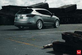Santa Fe | CVT - Metallic Silver - E: 22x9 / H: 22x9