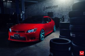 Scion tC | CV7 - Custom Finish - E: 20x10 / H: 20x10