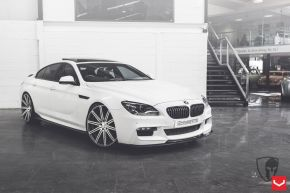 BMW 6 Series | M6 - CV4 - Matte Graphite Machined - E: 22x9 / H: 22x10.5