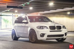 BMW X5 | VFS2 - Satin Bronze - E: 22x9 / H: 22x10.5