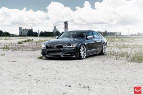 Audi S8 | VFS1 - Silver Brushed - E: 22x10.5 / H: 22x10.5