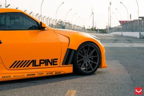 Nissan 370Z | VFS1 - Matte Graphite - E: 20x9.5 / H: 20x12