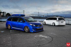 Toyota Sienna | VFS2 - Satin Bronze - E: 20x10.5 / H: 20x10.5