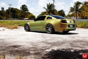 Ford Mustang | CV7 - Matte Graphite - E: 20x9 / H: 20x10.5