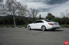 Mercedes Benz CLS | CVT - Metallic Silver - E: 20x9 / H: 20x10.5