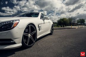 Mercedes Benz SL | CV5 - Matte Graphite Machined - E: 20x9 / H: 20x10.5