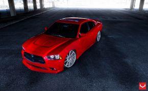 Dodge Charger | CVT - Metallic Silver - E: 22x9 / H: 22x10.5