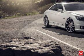 Mercedes Benz CL | CVT - Metallic Silver - E: 22x9 / H: 22x10.5