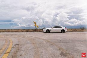 Porsche Panamera | VFS1 - Matte Graphite  - E: 22x9 / H: 22x11