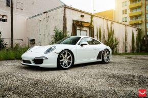 Porsche 911 | CV7 - Silver Polished- E: 20x9 / H: 20x10.5