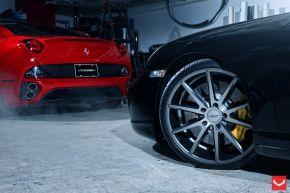 Porsche GT2 | VFS1 - Matte Graphite  - E: 20x8.5 / H: 20x11