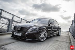 Mercedes Benz S Class | VFS2 - Silver Polished - E: 22x9 / H: 22x10.5