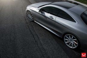 Mercedes Benz S63 Coupe | CVT - Metallic Silver - E: 22x9 / H: 22x10.5