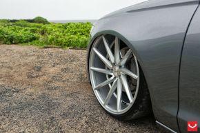 Audi A6 | CVT - Metallic Silver - E: 22x9 / H: 22x9