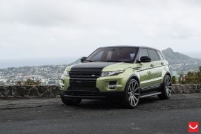 Land Rover Evoque | CV4 - Matte Graphite Machined - E: 22x9 / H: 22x9