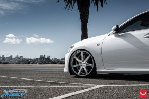 Lexus GS | CV7 - Silver Polished - E: 20x9 / H: 20x10.5