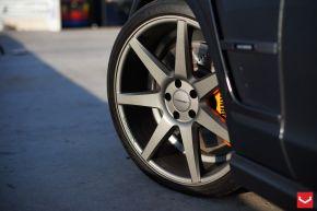 Mercedes Benz CLS - CV7 - Matte Graphite - E: 20x9 / H: 20x10.5