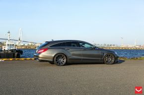 Mercedes Benz Shooting Brake | CV4 - Matte Graphite - E: 20x9 / H: 20x10.5