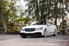 2014 MERCEDES-BENZ E63S WAGON | VOSSEN FORGED VPS-301