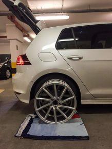VW Golf 7 R-Line | Vossen CVT