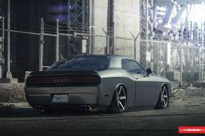 Dodge Challenger |  CV3 - Matte Graphite  - E: 20x9 / H: 20x10.5